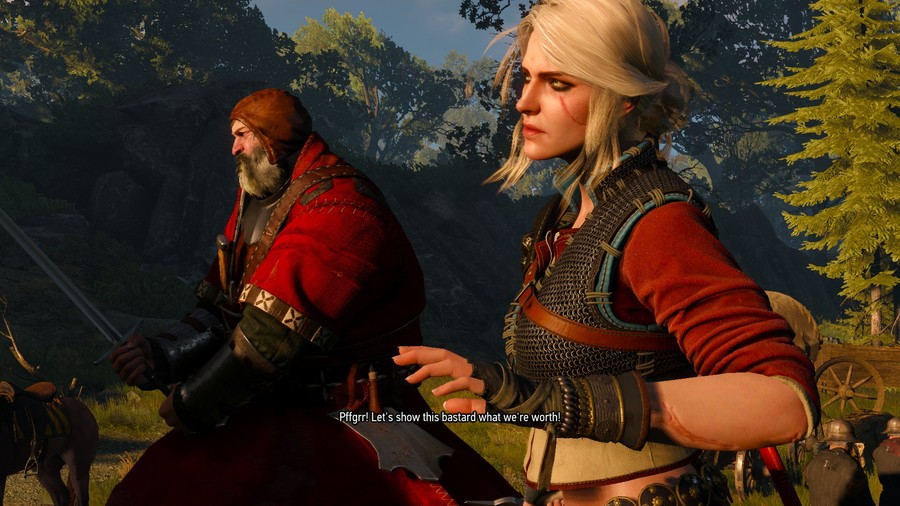 The Bloody Baron Alongside Ciri
